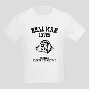 Treeing Walker Coonhound Kids Light T-Shirt