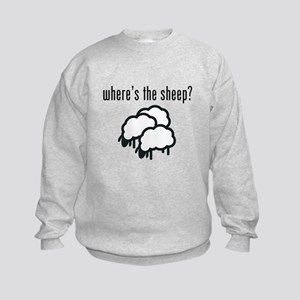 Where's the Sheep Kids Sweatshirt