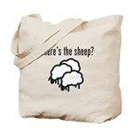 Where's the Sheep Tote Bag