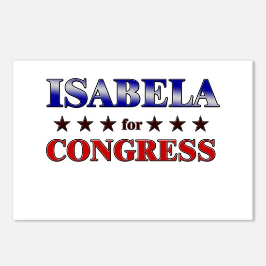 ISABELA for congress Postcards (Package of 8)