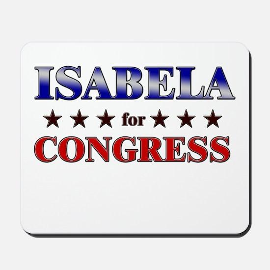 ISABELA for congress Mousepad
