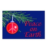 Peace on Earth with Peace Sign Postcards (Package
