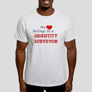 My heart belongs to a Quantity Surveyor T-Shirt