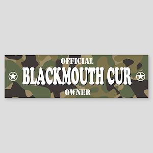 BLACKMOUTH CUR Bumper Sticker