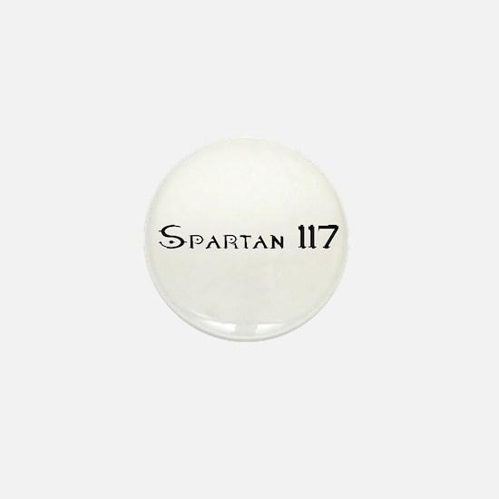 Spartan 117 Mini Button