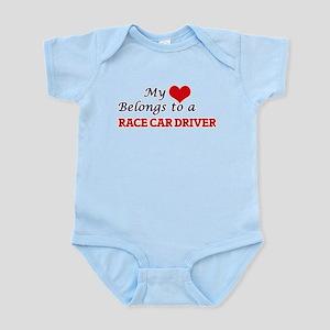 My heart belongs to a Race Car Driver Body Suit