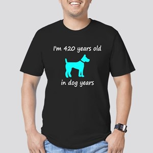 60 Dog Years Lt Blue Dog 1 T-Shirt
