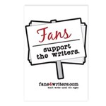 Fans Support the Writers Postcards (Package of 8)
