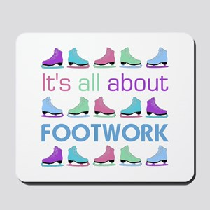 Footwork Multi Letters Mousepad