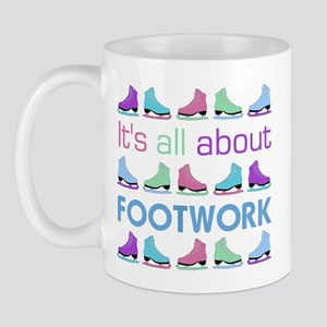 Footwork Multi Letters Mug