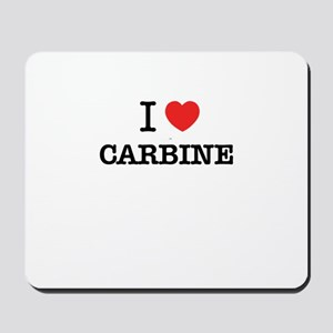 I Love CARBINE Mousepad