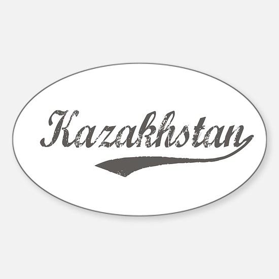 Kazakhstan Flanger Oval Decal