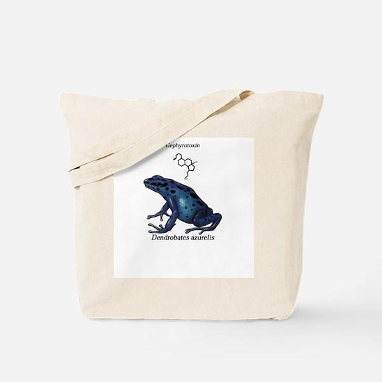 Funny Dart frog Tote Bag