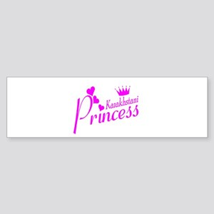 Kazakhstani Princess Bumper Sticker