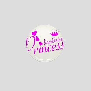 Kazakhstani Princess Mini Button
