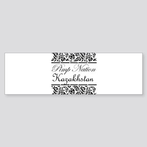 Pimp nation Kazakhstan Bumper Sticker