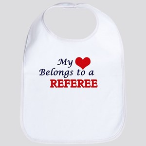 My heart belongs to a Referee Bib