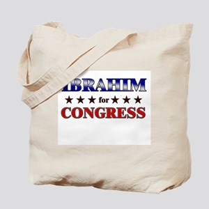 IBRAHIM for congress Tote Bag