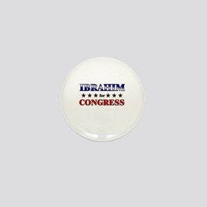 IBRAHIM for congress Mini Button