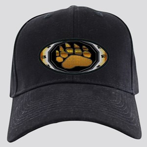 BEAR PAW IN BEAR PRIDE DESIGN Black Cap