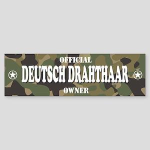 DEUTSCH DRAHTHAAR Bumper Sticker