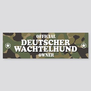 DEUTSCHER WACHTELHUND Bumper Sticker