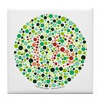 Color Blind Tile Coaster