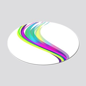 Colorful Lines Wall Sticker