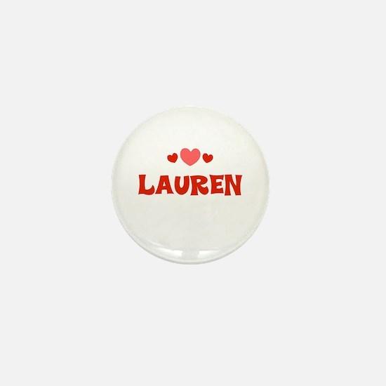 Lauren Mini Button