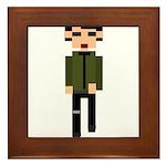 Retro 3 Framed Tile