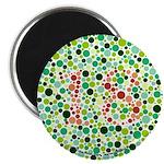 """Color Blind 2.25"""" Magnet (10 pack)"""