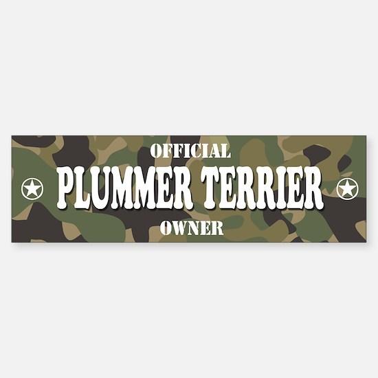 PLUMMER TERRIER Bumper Bumper Bumper Sticker