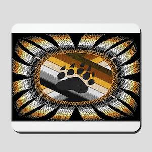 BEAR PAW PRIDE DESIGN/BLACK Mousepad