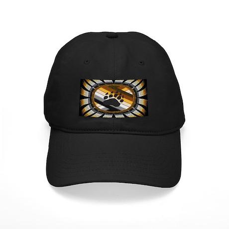 BEAR PAW PRIDE DESIGN/BLACK Black Cap