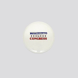HERIBERTO for congress Mini Button