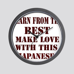 Learn best from Japan Wall Clock