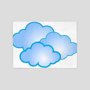 Clouds 5'x7'Area Rug