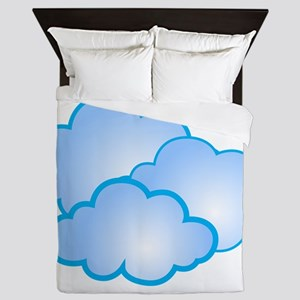 Clouds Queen Duvet