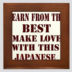 Learn best from Japan Framed Tile
