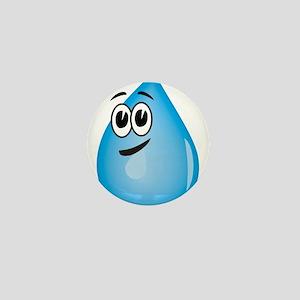Water Drop Mini Button