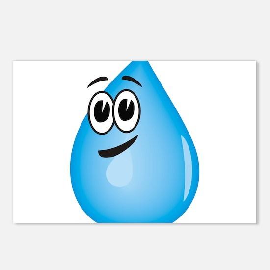 Water Drop Postcards (Package of 8)