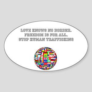 stop human trafficking Sticker