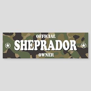 SHEPRADOR Bumper Sticker