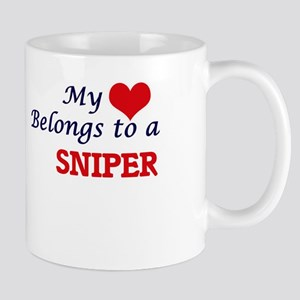 My heart belongs to a Sniper Mugs