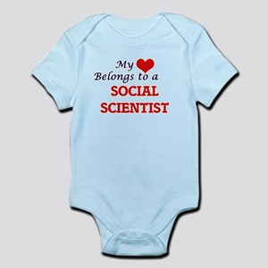 My heart belongs to a Social Scientist Body Suit