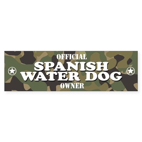 SPANISH WATER DOG Bumper Sticker