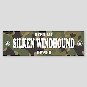 SILKEN WINDHOUND Bumper Sticker