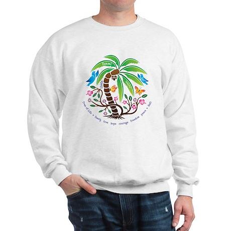 Sweatshirt/Tropical Tree of Life