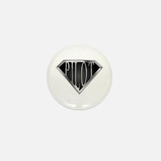SuperPilot(metal) Mini Button