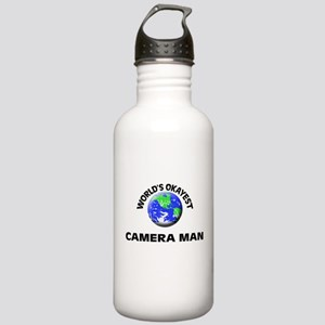 World's Okayest Camera Stainless Water Bottle 1.0L